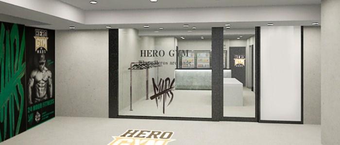 HERO GYMエントランス